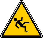 Fall down