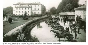 Killarney Station & The Railway Hotel
