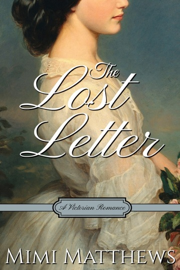The Lost Letter by Mimi Matthews - Book Cover