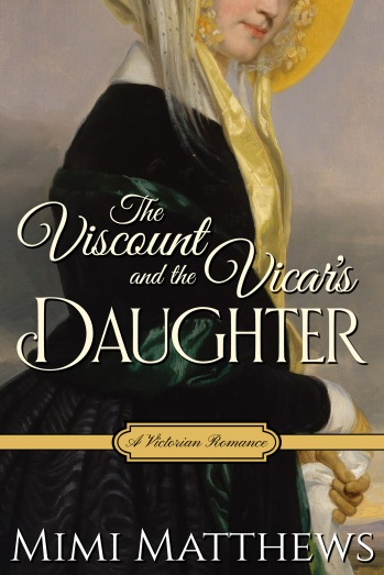 The Viscount and the Vicar Daughters by Mimi Matthews, Review Cover