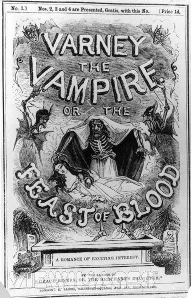 Varney_the_Vampire_or_the_Feast_of_Blood 1845